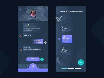 Chat & Options UI