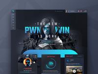 dashboard - portal web responsive design ux ui
