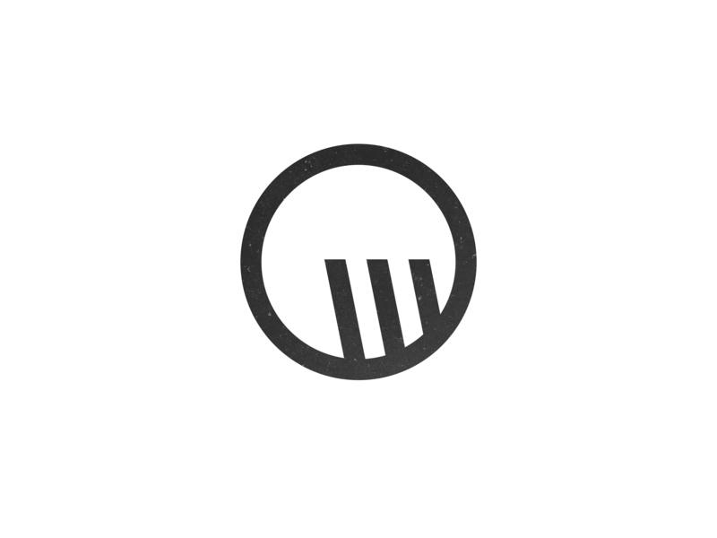 Minimally Abstract W Logo icon abstract identity marketing design oklahoma graphic design illustration logo branding