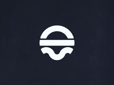Sun, Land & Water Logo vector icon abstract identity marketing design oklahoma graphic design illustration logo branding