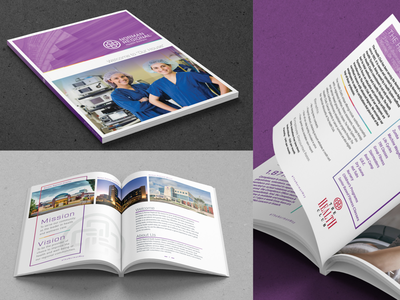 Norman Regional Brand Book hospital healthcare identity design identity brand branding
