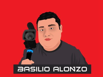 Basilio Alonzo   Mascot log logo designer art vector portrait illustration creative modern branding cartoon character cartoon mascot