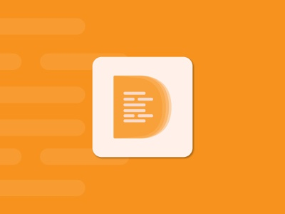 DocBook | App icon ui mobile app app app icon tech logo app logo gradient logo creative logo logo designer modern logo brand design branding logo design logo