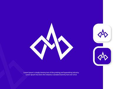 MA lettermarks logo designer vector modern visual grid icon app ui design branding creative logo modern logo brand design logo designer logo design logo