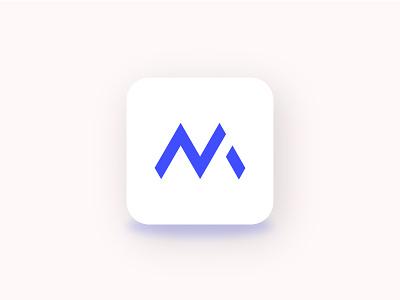 NM lettermarks logo visual vector flat letter lettermarks letterhead mobile app identity software logo app icon ui design creative logo modern logo brand design branding logo designer logo design logo