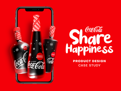 Coca-Cola Share Happiness UI/UX Case Study ux design uxdesign ui design uidesign uiux design ux ui app