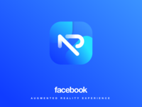 Facebook AR concept logo and App icon