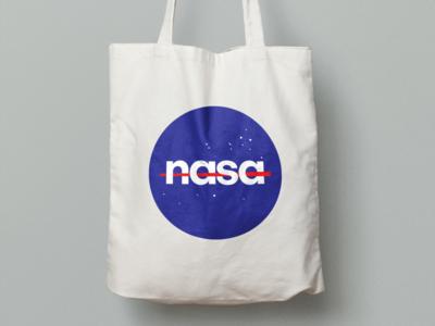 NASA logo new look branding blue logo nasa