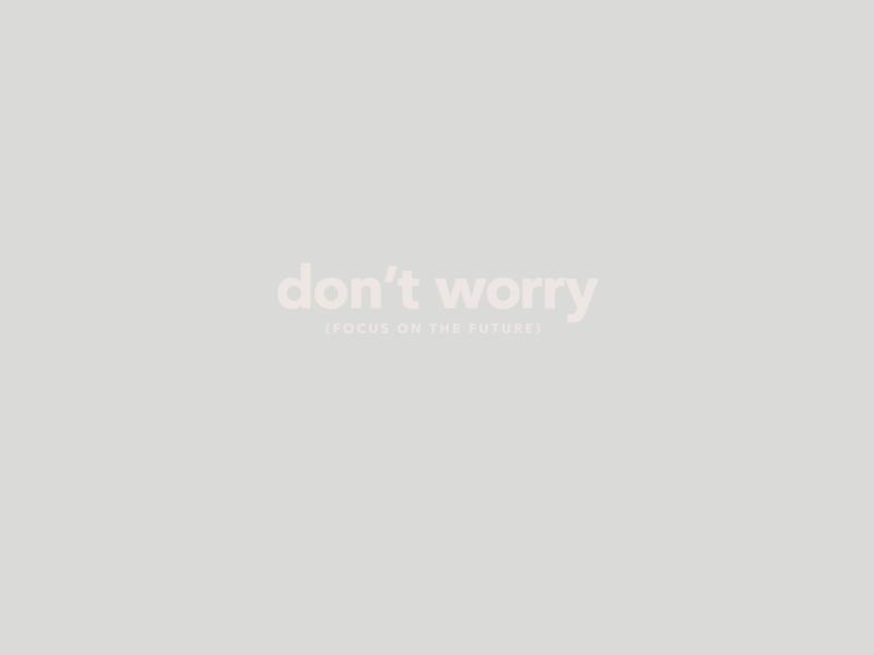 Calm Mantra - Don't worry