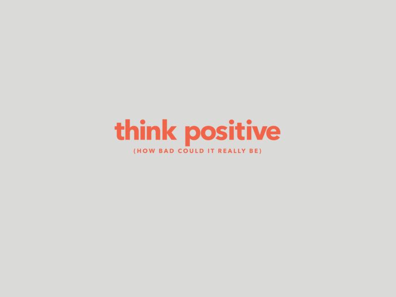 Calm Mantras - Think positive