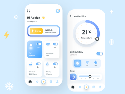 Smart Home App user experience userinterface mobile design mobile ui smart home app design app smart home app mobile app design mobile app app design ux ui  ux design app ui uiux ui design ui uidesign figmadesign figma design