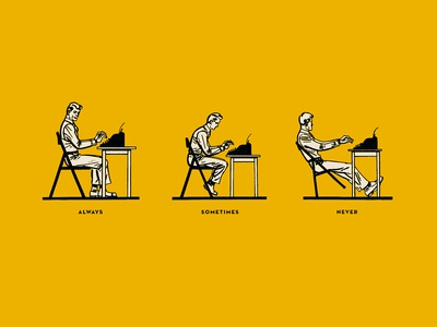 Typing Postures