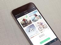 Buy used items app (WIP)