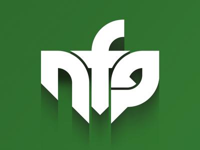 NeurofunkGrid logo drum and bass neuro drum and bass dnb music logo edm electronic green label