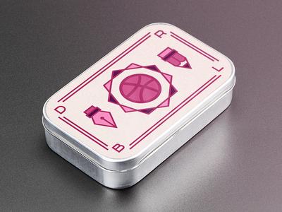 Mint tin sticker! food packaging pen pencil candy tin mint sticker dribbble pink