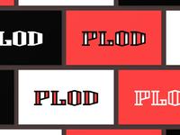 006 PLOD lettering