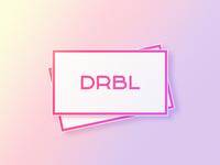 DRBL lettering