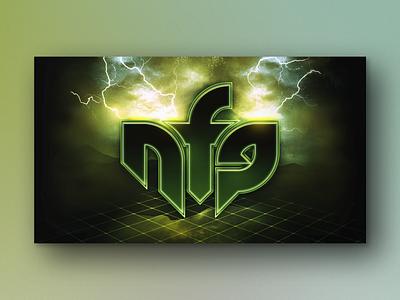 NeurofunkGrid neurofunk label green electronic edm logo music dnb neuro drum and bass