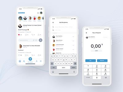 Venmo Redesign App ux ui mobile app mobile app design payment app