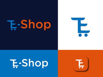 E-commerce Website Logo Design e-commerce e-commerce logo logos logo logo design graphic designer minimalist logo minimalist logo design concept logo designer for hire logotype logodesign minimal logo designer