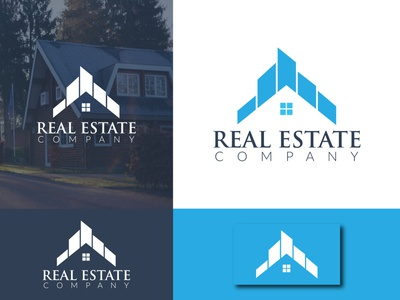 Real Estate Company Logo real estate branding real estate logo real estate graphic designer logo designer for hire logo design concept logo design minimalist logo minimalist logotype logodesign minimal logo designer