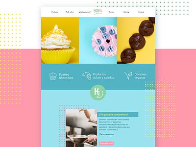 Ketotal ui design food bakery logo icon figma ui design website