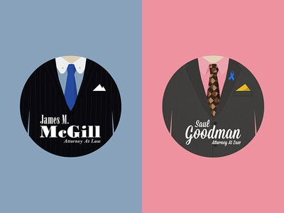Better Call Saul - Jimmy McGill to Saul Goodman illustration better call saul saul goodman breaking bad suit jimmy mcgill walter white jesse pinkman vince gilligan brba lawyer