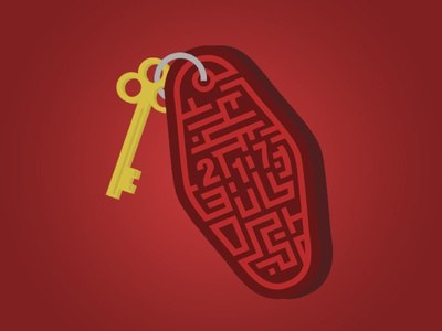 The Stanley Hotel - Maze Key (The Shining)