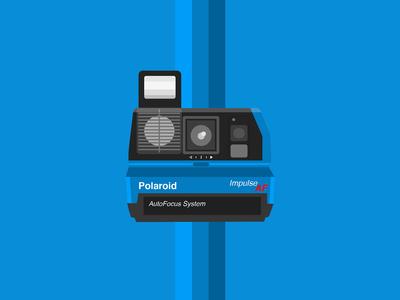 Polaroid Impulse AF Instant Camera