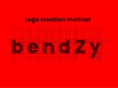 bendzy folding bending creative logodesign sheet metal bendzy