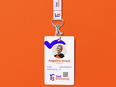 Test Bootcamp ID card Design branding brand identity id card design