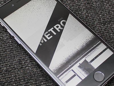Splash screen launch screen splash metro app travel paris city stations nearby