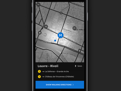 Metro station details iphone ios details metro app travel paris city stations nearby