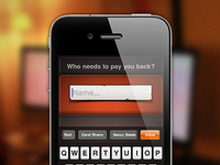 PayMeBack for iPhone