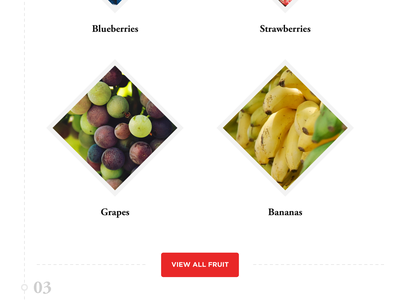 Delicious Fruit cinema 4d c4d cinema4d sketch shop store fruit header web webdesign website