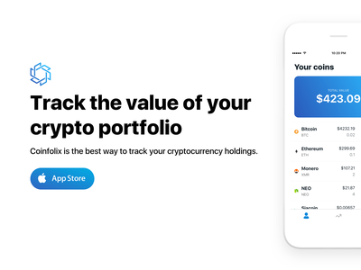 Coinfolix - out now fintech finance portfolio cryptocurrencies cryptocurrency crypto ethereum bitcoin