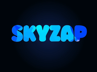 Skyzap motion after effects adobe motion art logo animation motion skyzap