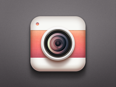 Camera Icon iOS practise practise lens application iphone camera app ios logo icon