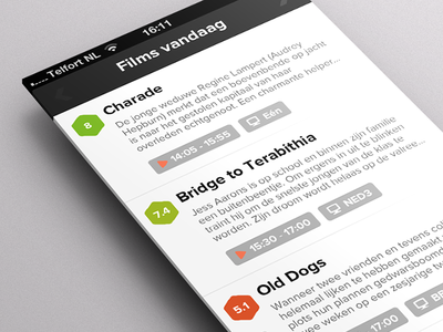 MovieMeister - Home Screen