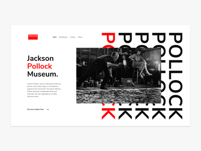Hello Dribbble abstract area chart lettering minimal whit red jackson pollock ui design ux design website typography flat web design ux ui