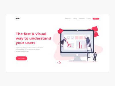 Landing Page | Hotjar