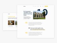 LAGOM Tiny houses | blog design