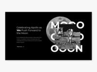 Moon landing page #003