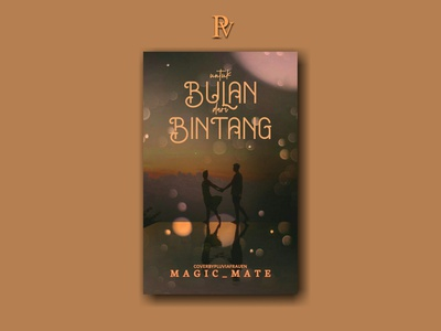 Untuk Bulan dari Bintang illustration design bookcoverdesign bookcover