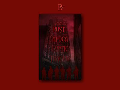Post-apocalyptic Trauma illustration design bookcoverdesign bookcover