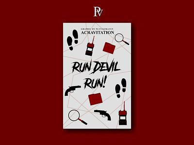 Run Devil, Run! illustration design bookcoverdesign bookcover
