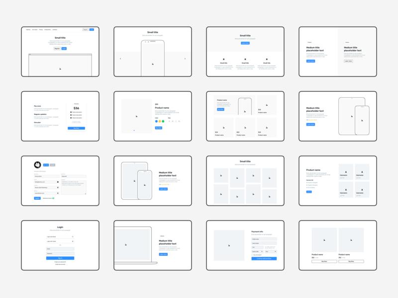 Frames 2 - Web UI kit 🚀 hero frames for sketch frames forms devices mockups grid design kit layouts typography icons mobile ui kit symbols design system interface freebie sketch ux ui