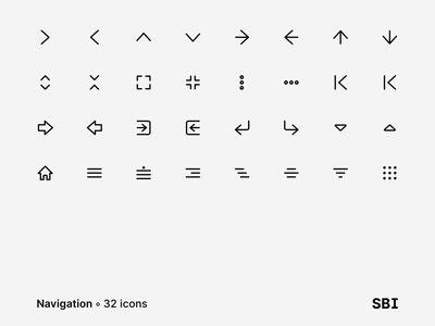 Super Basic Icons ✶ 128 Free Icons navigation bar stroke icons free sbi vector stroke outline freebie-friday free icons free set design web icons ui kit symbols interface freebie sketch ux ui