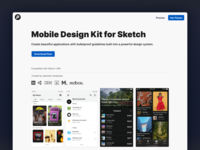 Plaster 2 - Mobile Design Kit Updated! update website color theme mobile ui kit human interface material components ios android mobile icons ui kit symbols figma design system interface freebie sketch ux ui
