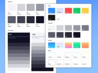 Frames 2.1 - Web Design System - Updated! pallete colours frames for sketch grayscale colors developer ui designer design elements typography web ui kit symbols design system interface freebie sketch ux ui